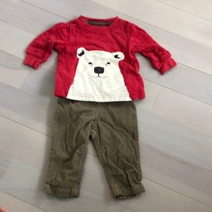 Other - Carter's outfit boys 3M